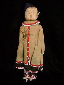 Iroquois Corn Husk Doll, c. 1890