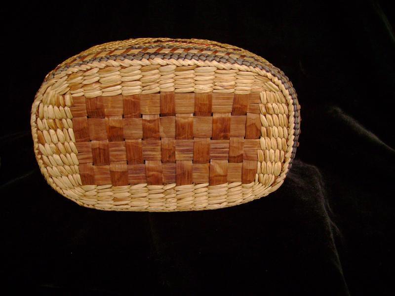 North West Coast Lidded Basket