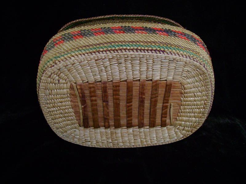 North West Coast Macah Basket