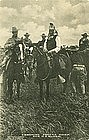 Geronimo: Apache Chief and US Guard Gravure Postcard