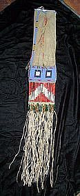 Sioux Beaded Tobacco Bag c.1870-1880