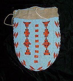 Assinaboine Beaded Bag c.1870
