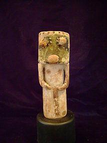 """""""Hopi Polychromed Cylinder Doll c.1880-90"""""""