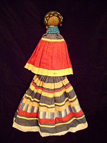 """""""Seminole Palmetto Doll Female c.1930-40"""""""