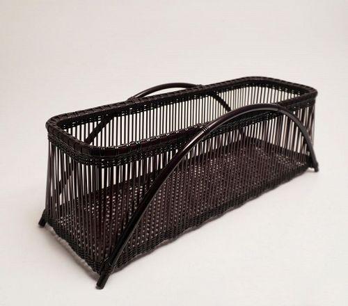 """Japanese bamboo basket by  Tanabe Chikuunsai � """"Sono"""""""