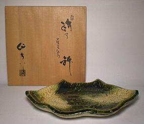 Oribe Ogi-Hachi By Kato Sakusuke