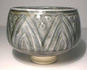Ao Etched Trois Voute Teabowl (1125tb)