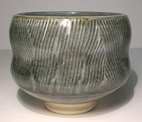 Ao Waisted Kushime Teabowl (1126tb)