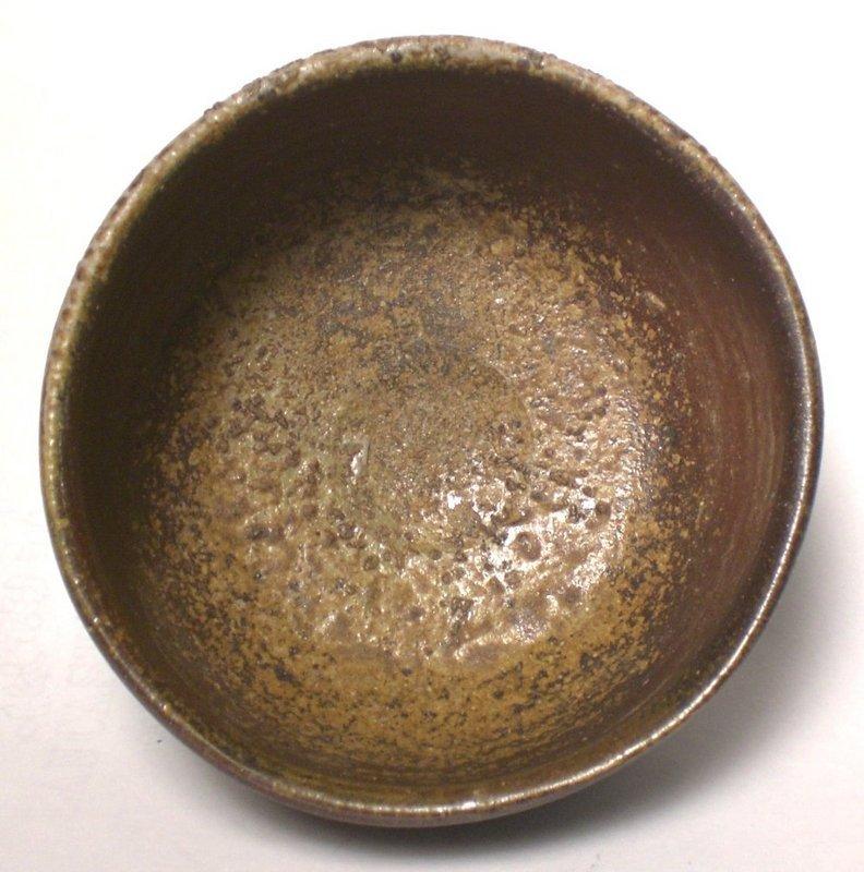 KURO-BIZEN CHAWAN BY ISEZAKI MITSURU