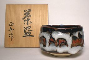 MINO STYLE CHAWAN BY SHOMURA SHOGO