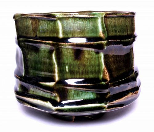 ORIBE RIDGED & FACETED TEABOWL (tb1189)