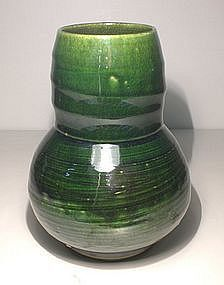 Oribe Hakeme Vase