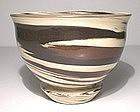 Iron & Black Neriage Teabowl