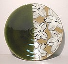 Oribe Sm. Plum Blossom Plate/ Wall Bowl