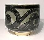 Ao Glazed Intersected Commas Teabowl