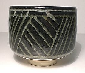 Ao Maru-wan Grasses Teabowl