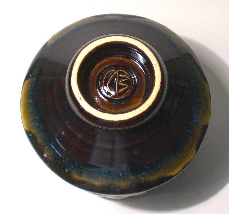 Temmoku & Haiyu Spirali Costanti Teabowl