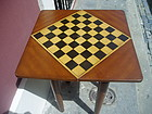 Austro Hungarian Biedermeier Style Chess Game Table