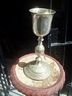 French 19thc Silver Chalice