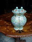 Chinese Porcelain Double Vase 19thc