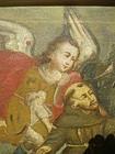 17thc Spanish Colonial Painting St Francis & Stigmata
