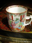 Chinese Rose Medallion porcelain Mug 1860