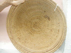 Amazon Tribal Basket with Snake Design-Yanomami