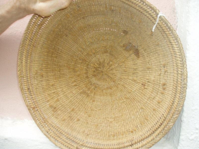 Amazon Tribal Basket with Snake Design-Yanomami
