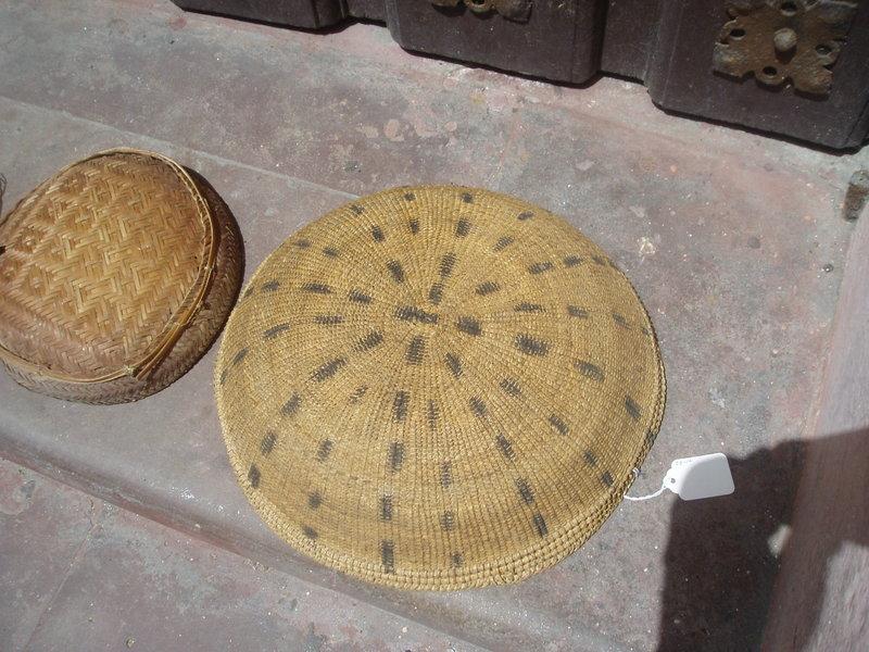 Amazon Tribal Basket  Spot Design Yanomami