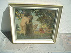 European Impressionist Oil Painting ca 1920s