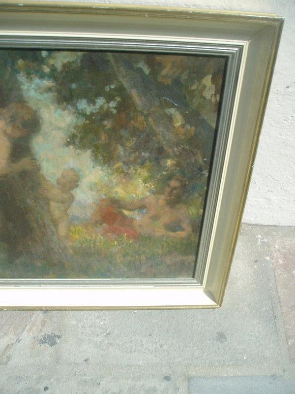 European Impressionist Oil Painting ca 1920s