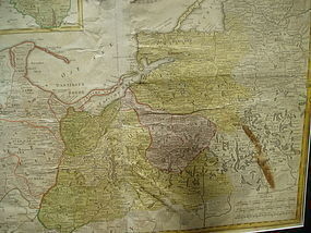 18thc Dutch Map BORUSSIAM {BELARUS} H. HEREDES 1773