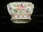 Chinese Porcelain Famille Rose Bowl Ching 1890s