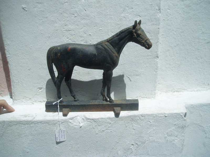 American Cast Iron Doorstop Horse Thorough Bred