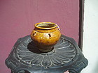 Antique Chinese Glazed Storage Jar Very Early