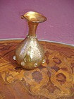 Special Murano Venetian Glass Gilt Cruet Jug