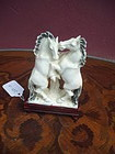 Chinese Carved Ivory Horses