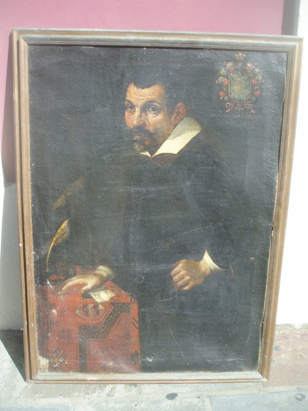 Late 17thc or Early 18thc Portrait of Spanish Grandee