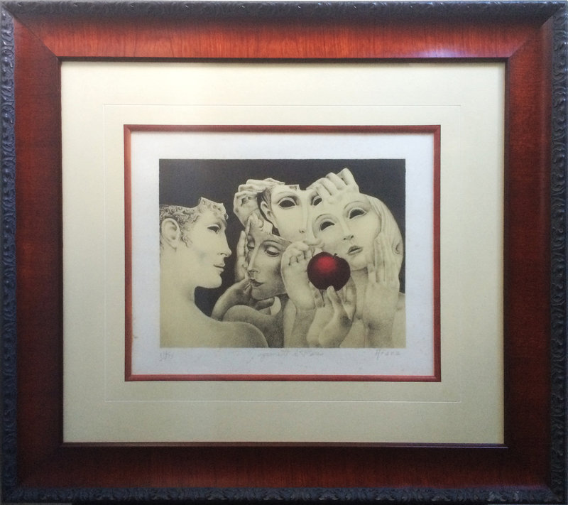 Puerto Rican Litho by Arana lstd Limited Edition and Sales