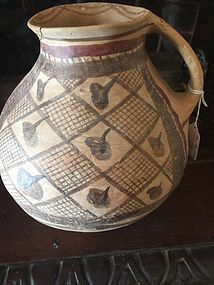 Archaic Thai Painted Pottery Jug Ban Chiang