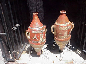 Tuareg  Islamic Amphoras-Pair-Early-200yrs