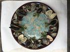 Decorative ceramic plate