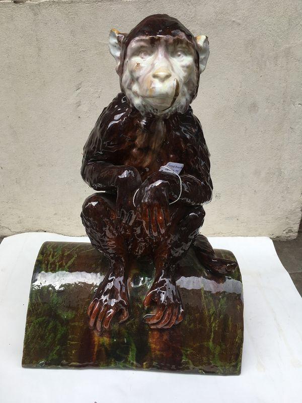 Monkey terracotta