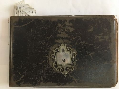 Antique notebook