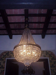 Magnificent Crystal Neo Classic Chandelier