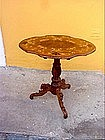 German Black Forest Tilt-Top Table-1880s-