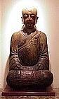 Chinese Buddha carved wood 500 yrs