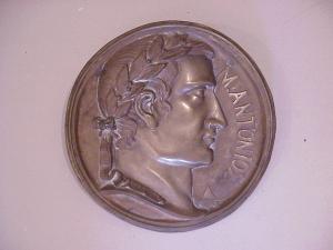 Bronze Roundel-Large-Neo-Classic -19thc