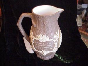 Wine pitcher, Villeroy & Boch INSCRIBED