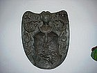 Crest,bronze - ca 1750 Polish or German